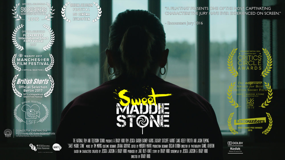 Sweet Maddie Stone available to watch online here 15-year-old Maddie Stone rules her school yard under the protection of her family name. But after discovering her notorious father has been arrested, she has to make his bail money or lose the yard. The more Maddie fights, the more her world spirals out of control - and the closer she gets to becoming the man she's trying to save. 23 mins 41 secs