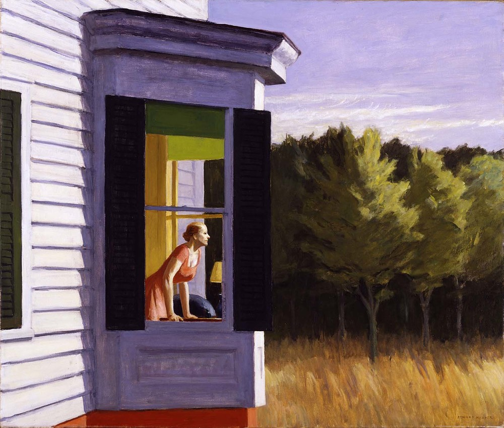 © Edward Hopper - Woman at window