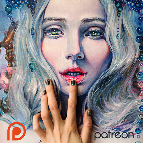 Become Patron - to get really deep into my creation process and support it!patreon.com/tanyashatseva