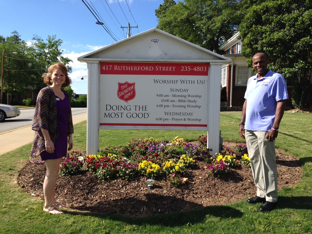 Rachel Wilkes and Carl- Salvation Army