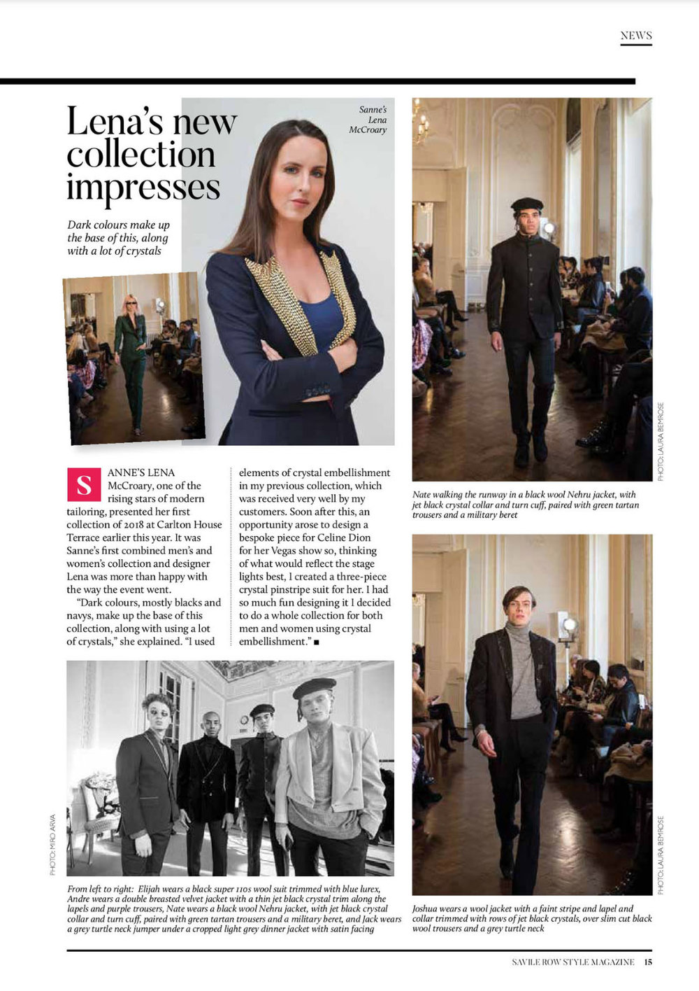 Savile Row Magazine June 2018