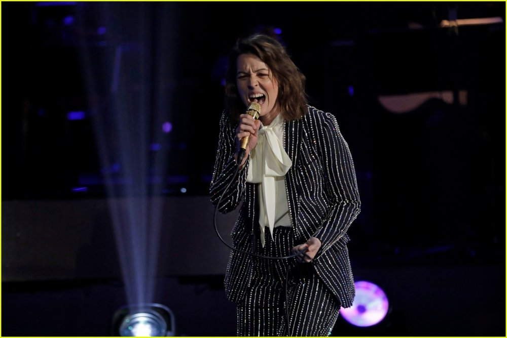 Brandi Carlile Grammy's performance March 2019