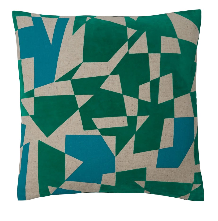 Habitat Press.  Kurt cushion - £25.00 - habitat.co.uk