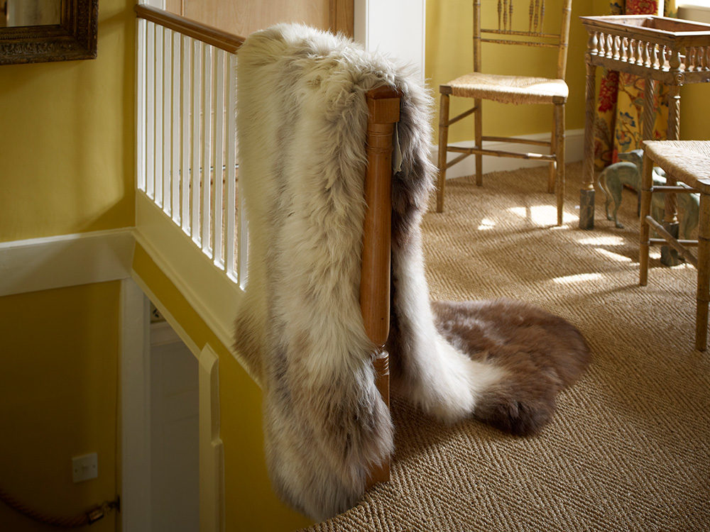 The Fabulous Fleece Company - Individual Rare Breed Sheepskin Rug - From £60 https://thefabulousfleececompany.co.uk