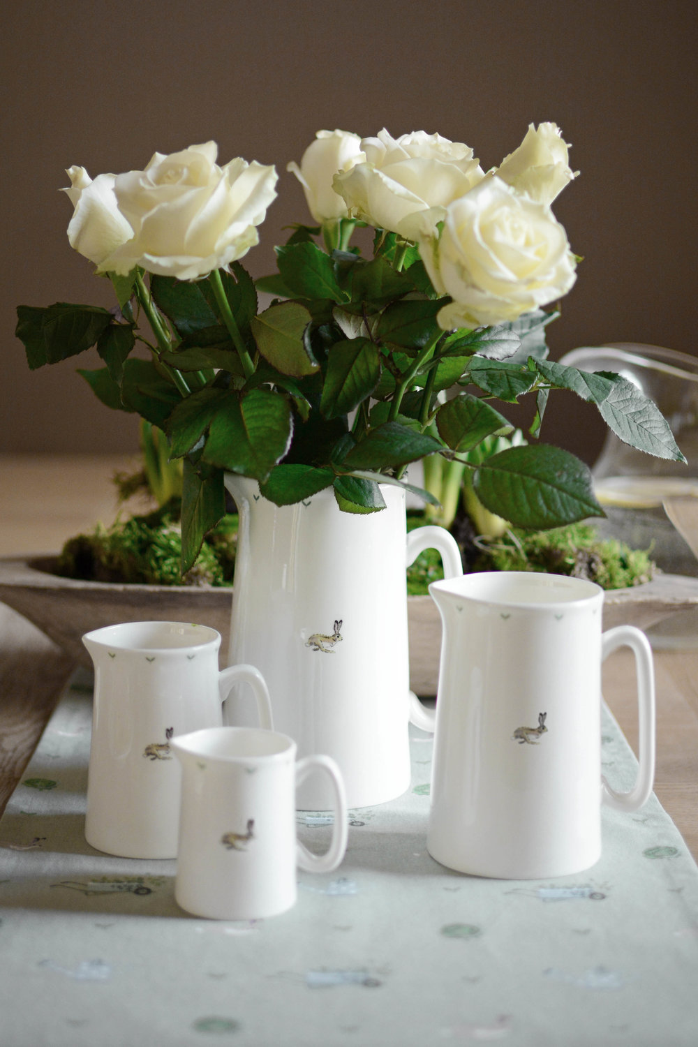 Image Credit:  http://sophieallport.com/ . Sophie Allport Bunny and Seed White China Jug. £14