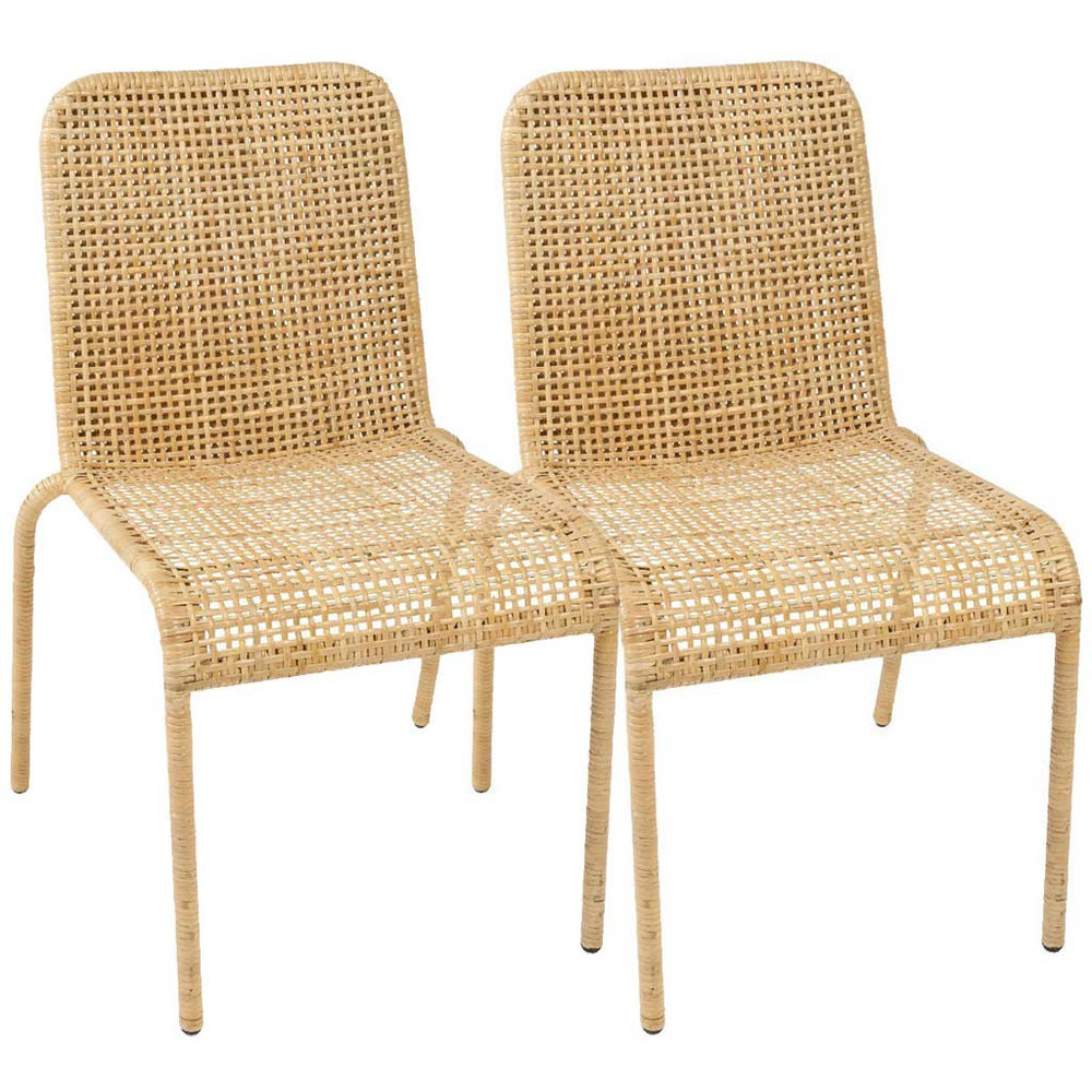 Credit: Hutsly. Set of 2 Trinidad Rattan Chairs. £421.  www.hutsly.com