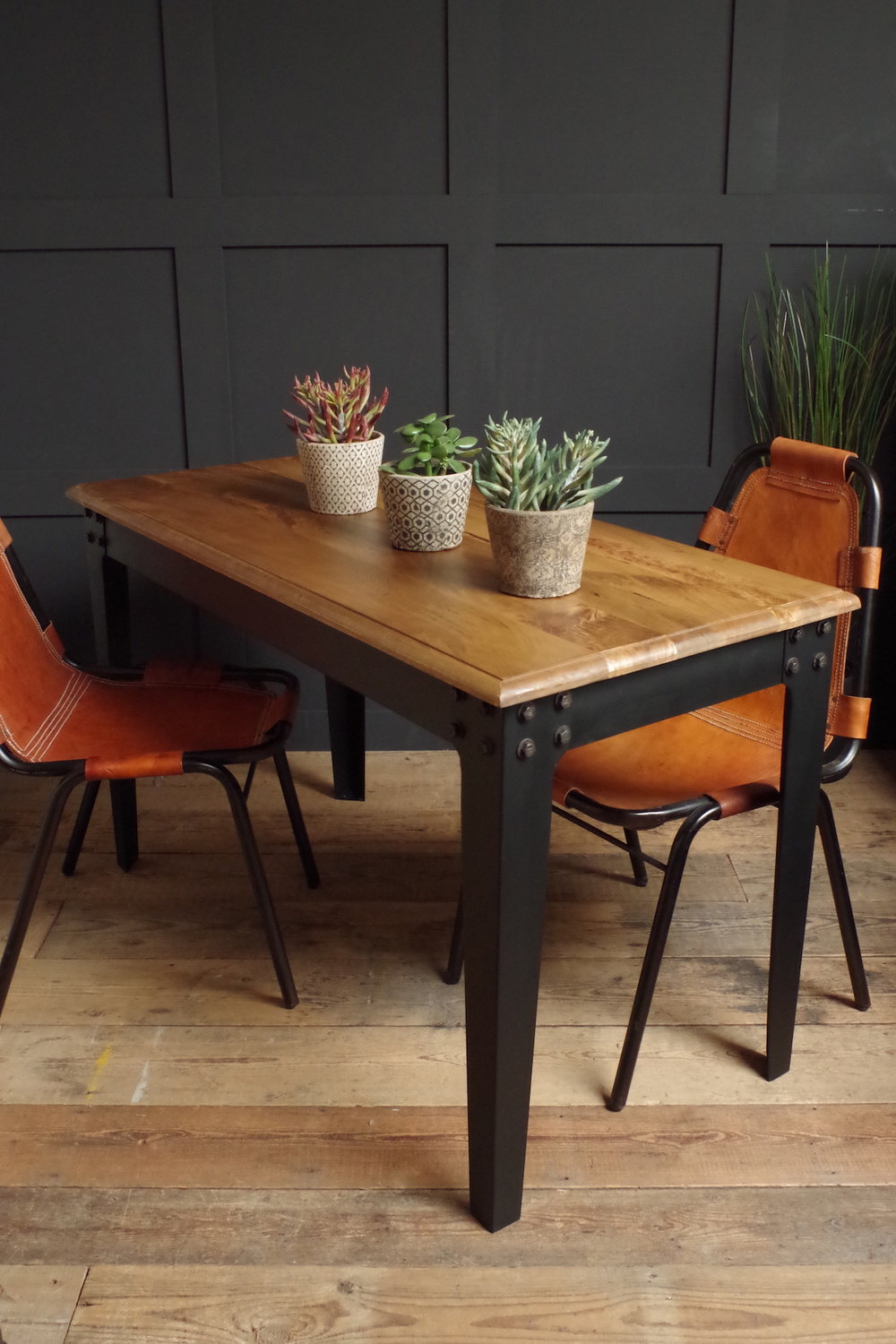 Image Credit: Vincent and Barn Ltd. Industrial Table - Medium.