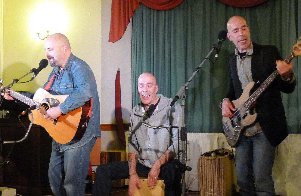 "Live Acoustic Special, with Simon and Ian Dennis, (Cajon & Bass guitar respectively). The events of the evening were recorded, and can be heard on the ""MUSIC"" page of this website, (after the videos)."