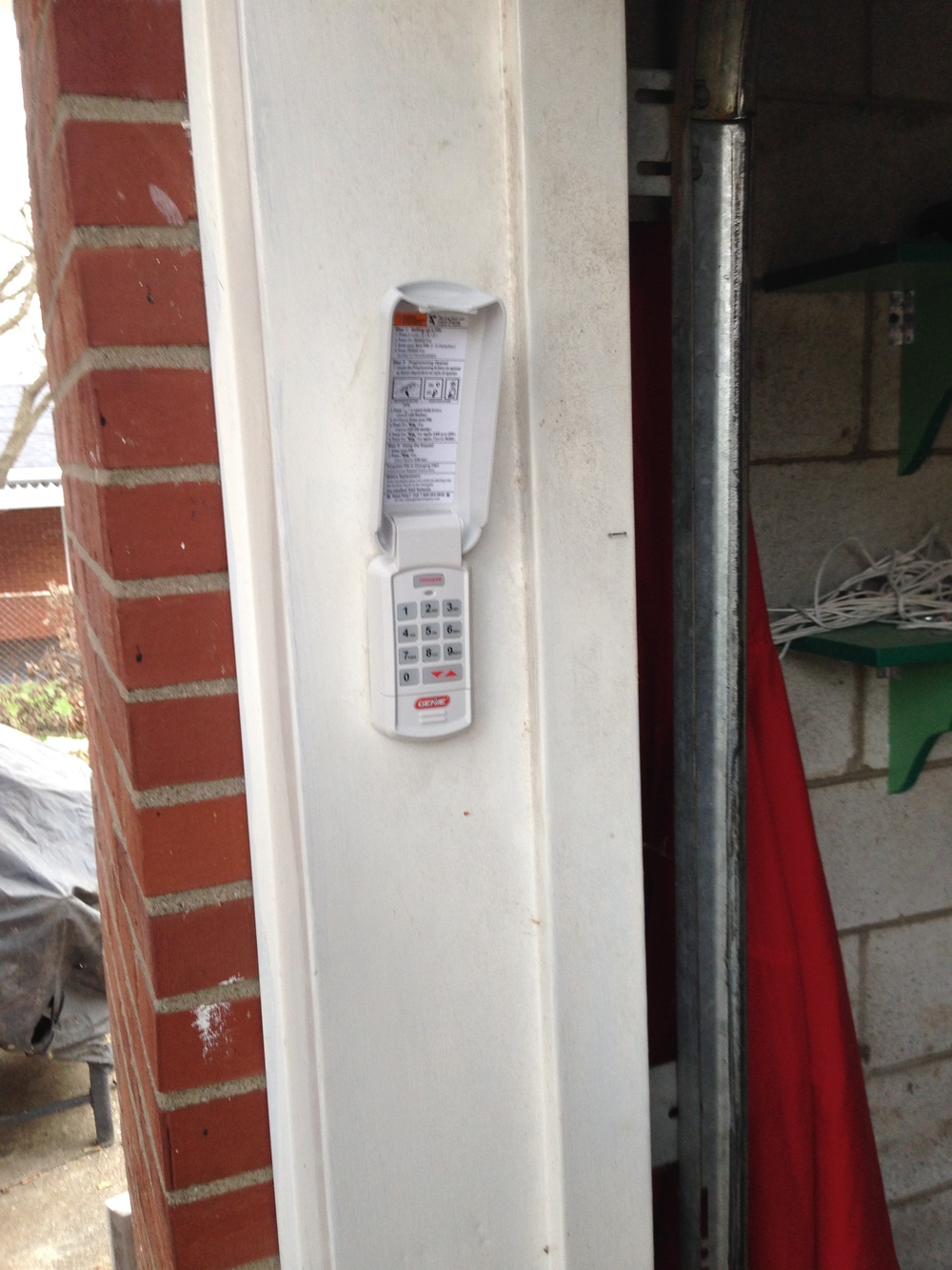 Garage Door Keypad.JPG