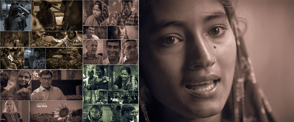 Project storytelling in southern Bangladesh