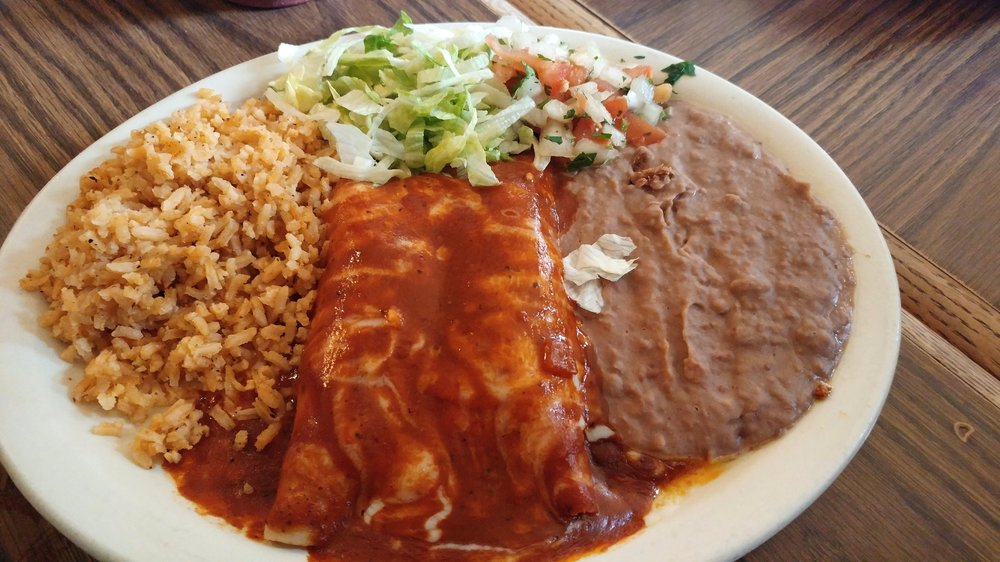 Supremas enchiladas - with chicken