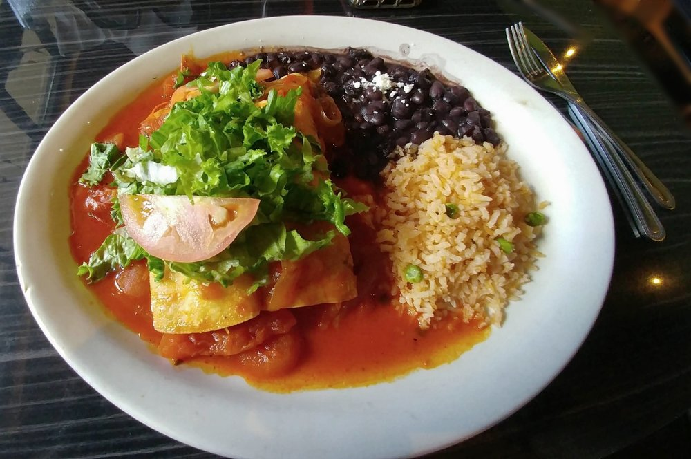 Enchiladas Diablas - with Chicken