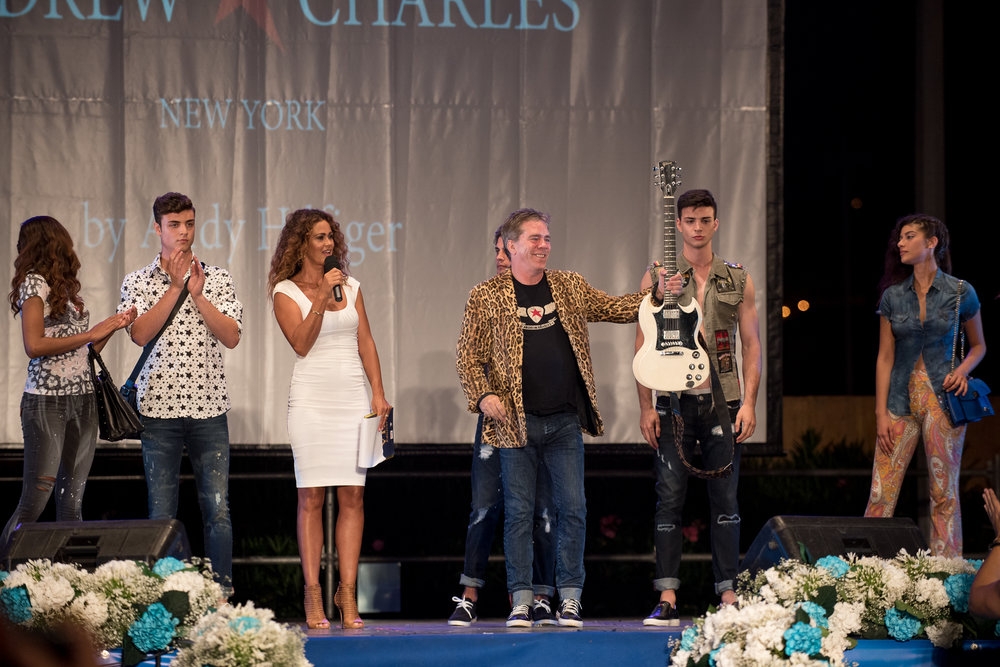 Fashion Show 2017 - Italy  - Sinfonie D'autore edition IIIV & FashionTV . During summer 2017 the show located in the heart of the Amalfi coast was the host of the Spring/Summer Andrew Charles by Andy Hilfiger official launch
