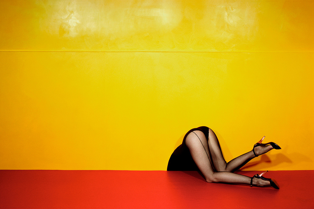Guy Bourdin, Charles Jourdan, 1979
