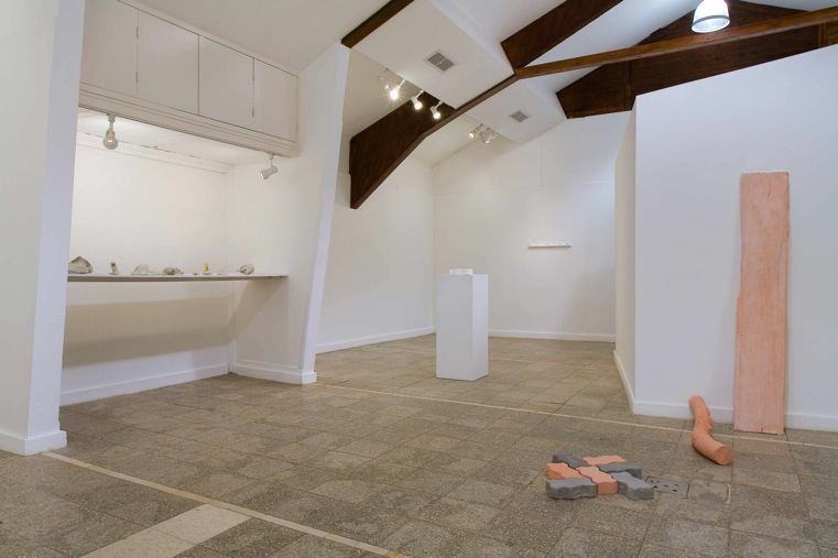 Concrete and Cement - No Way Back, Installation view