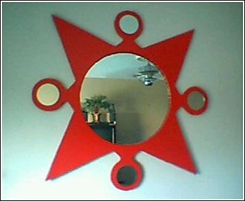 Starburst Mirror .
