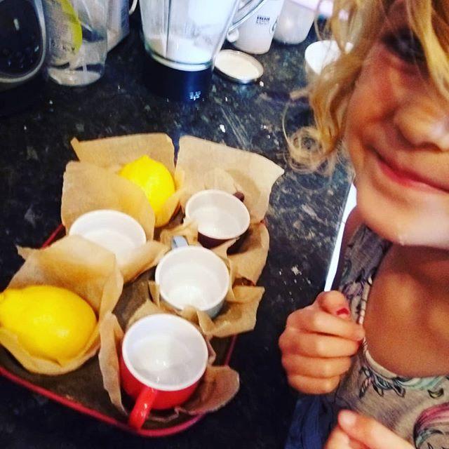 Making lemon cupcakes #baking