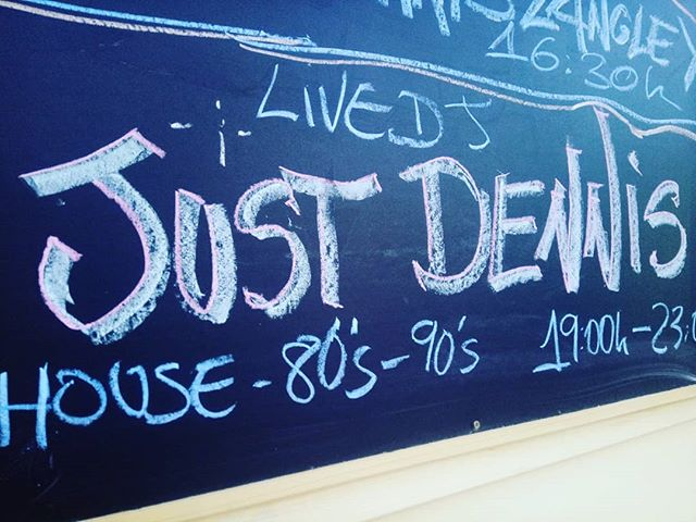 Everyone's fave DJ #justdennis #dj