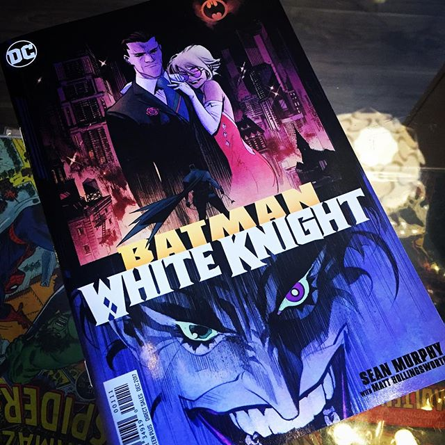 What?!? Joker is on a mission to save Gotham City... from Batman!?! Sean Murphy teams up with Matt Hollingsworth again.