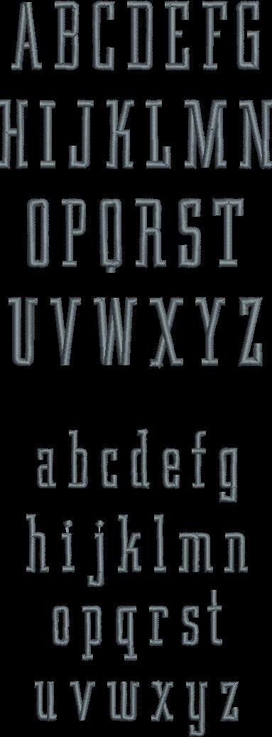 condensed serif