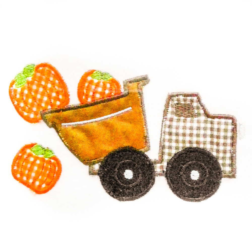 Pumpkin Dump Truck