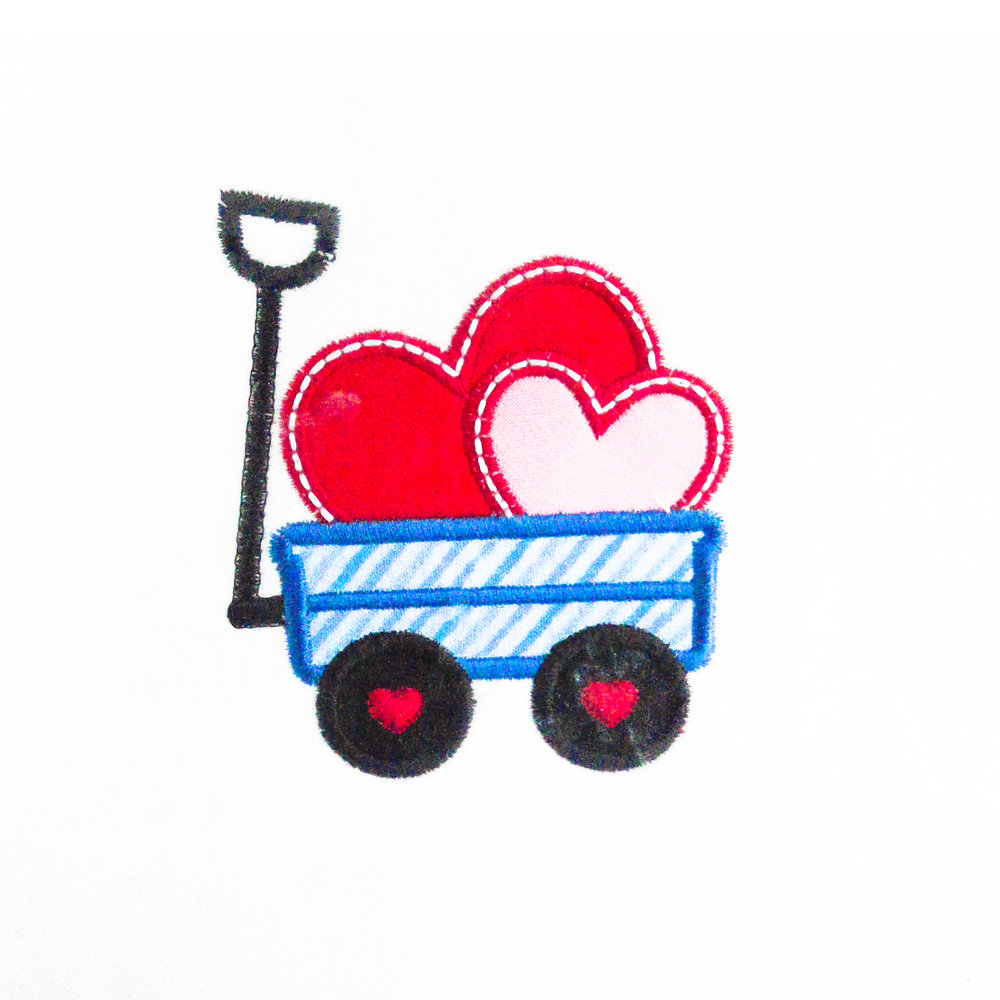 Valentine's wagon