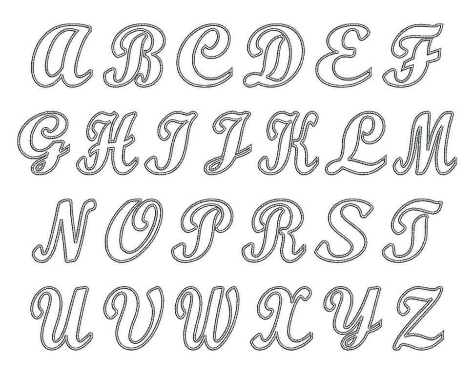 Satin Alley Font Board