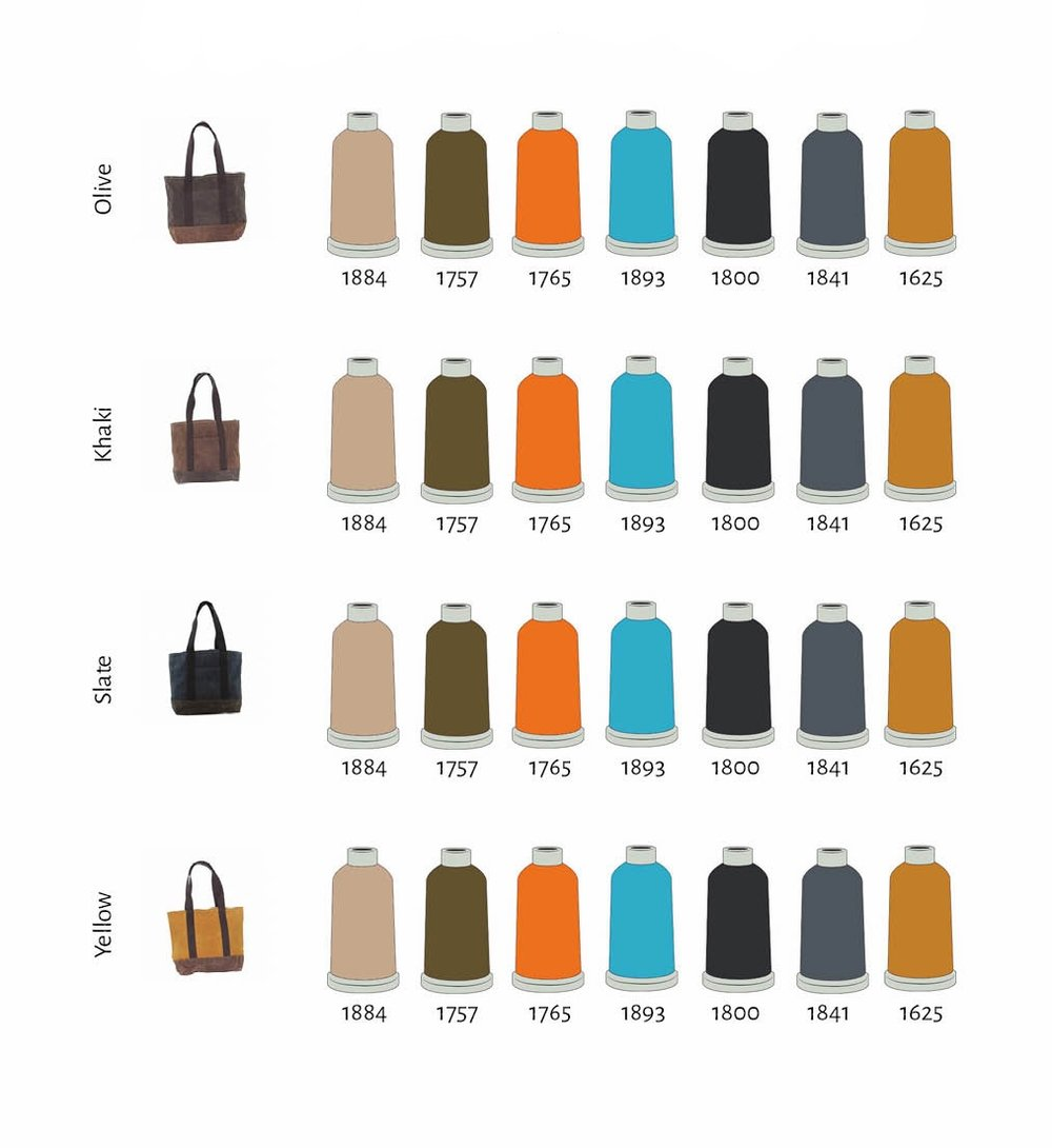 Recommended Thread Colors Wax Canvas Medium Boat Tote.jpg