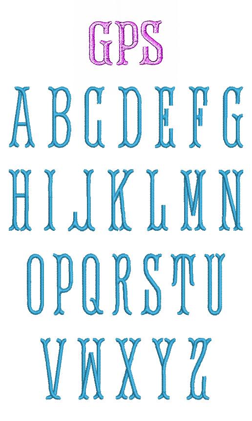 Monogram Serif