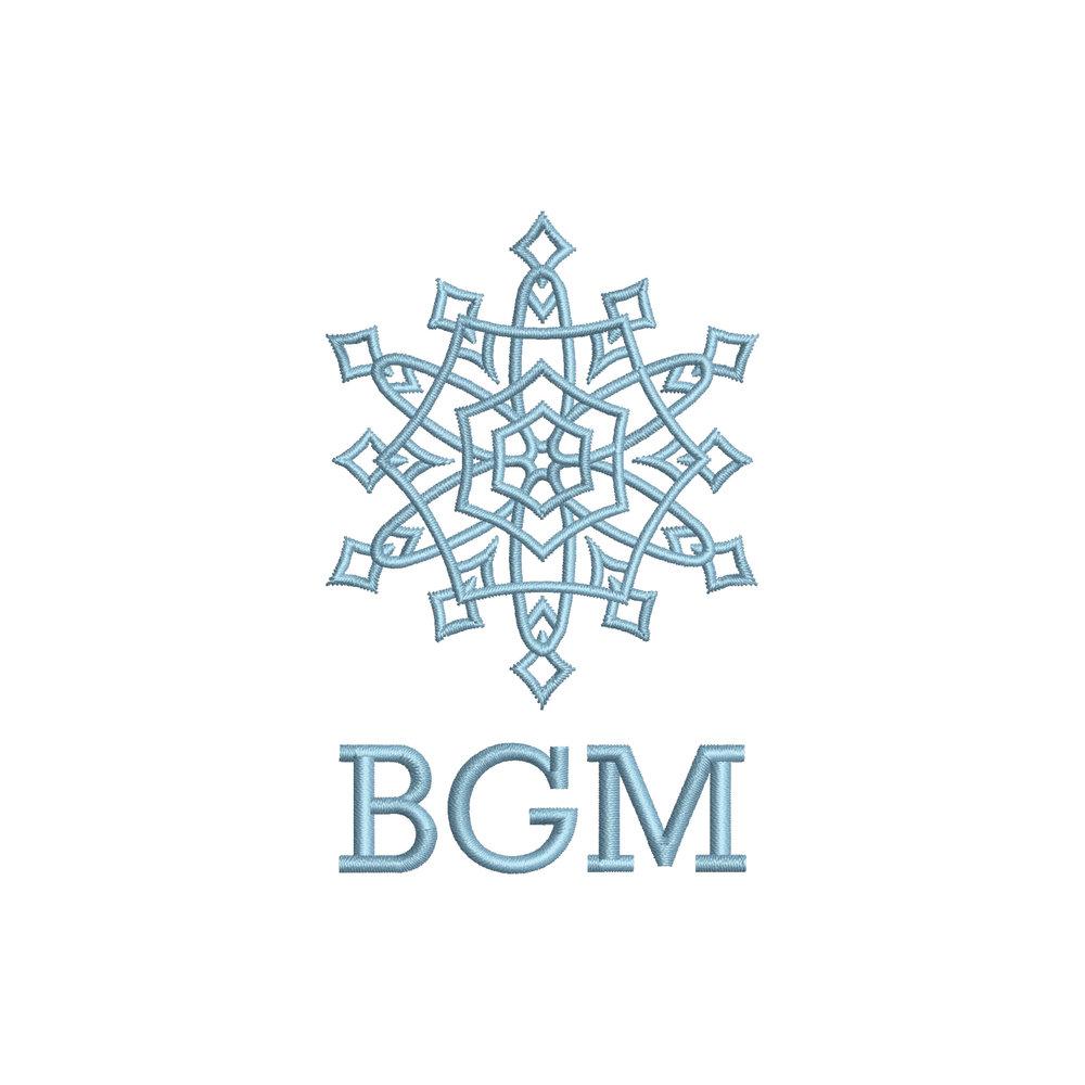 Snowflake Initials