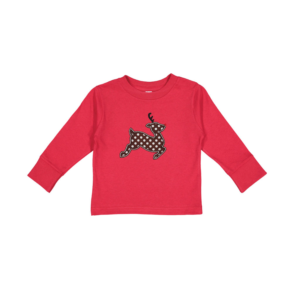 Christmas Designs - Long Sleeve Kid\'s T Shirts — Monogramming Studio ...