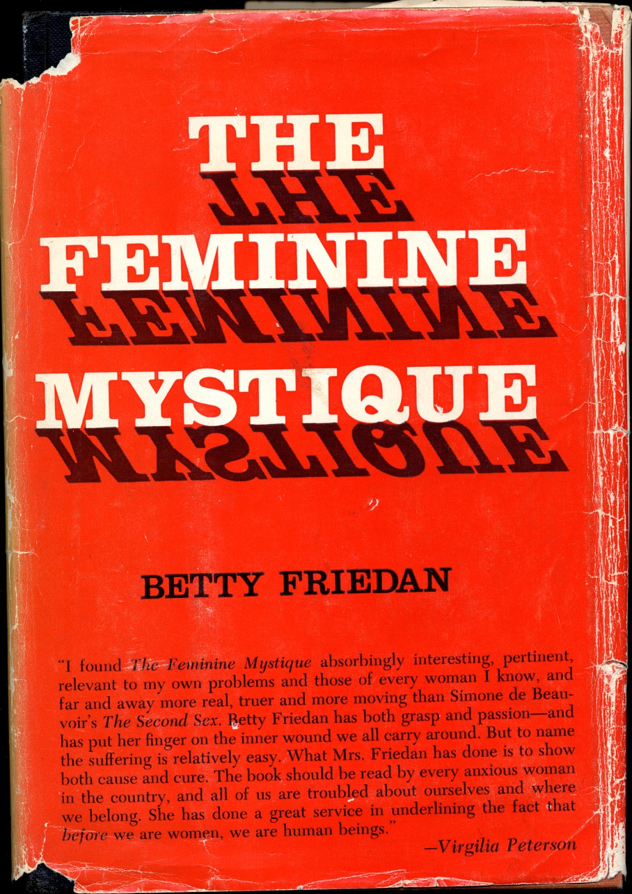 The Feminine Mystique by Betty Friedan1963.jpg