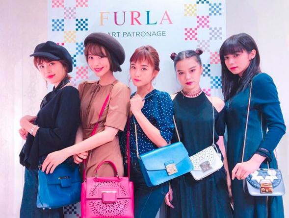 FURLA Ginza Store 1year Anniversary Event