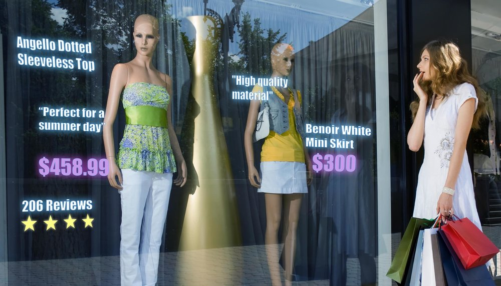 Store Front Windows -