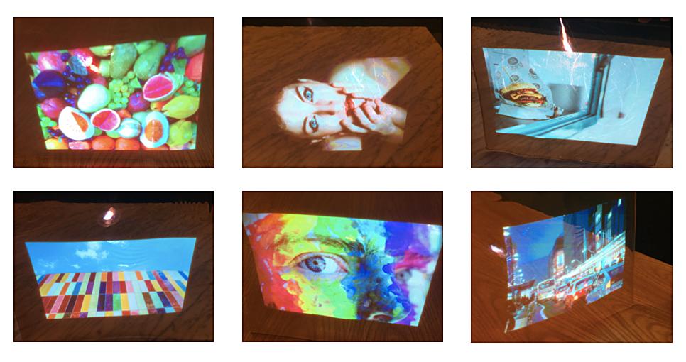 Transparent displayWavelength-Selective Scattering Film -