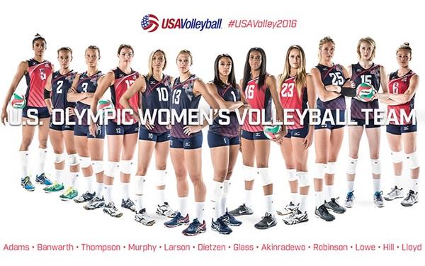 US Women's Volleyball Team