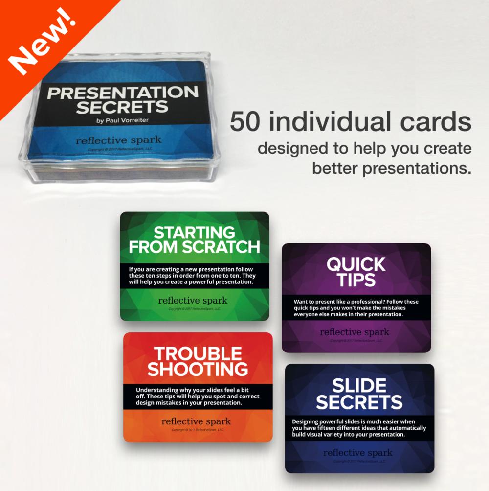 Presentation Secrets Card Deck