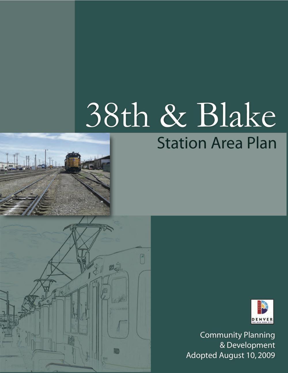 38th & Blake Plan
