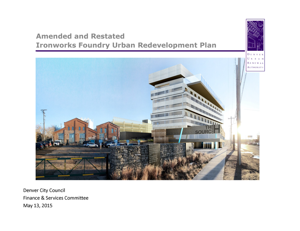 Ironworks Foundry Redevelopment Plan