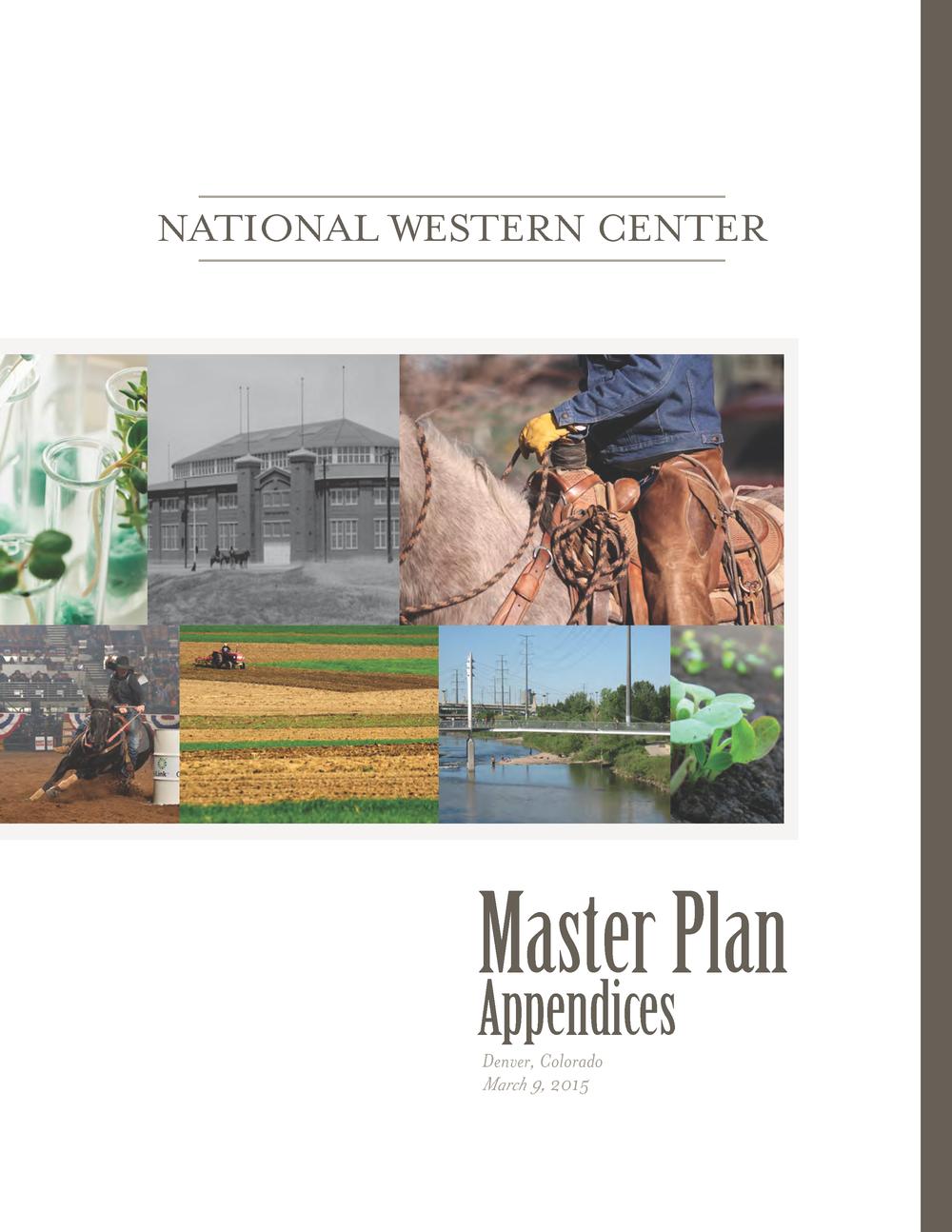 Master Plan Appendices