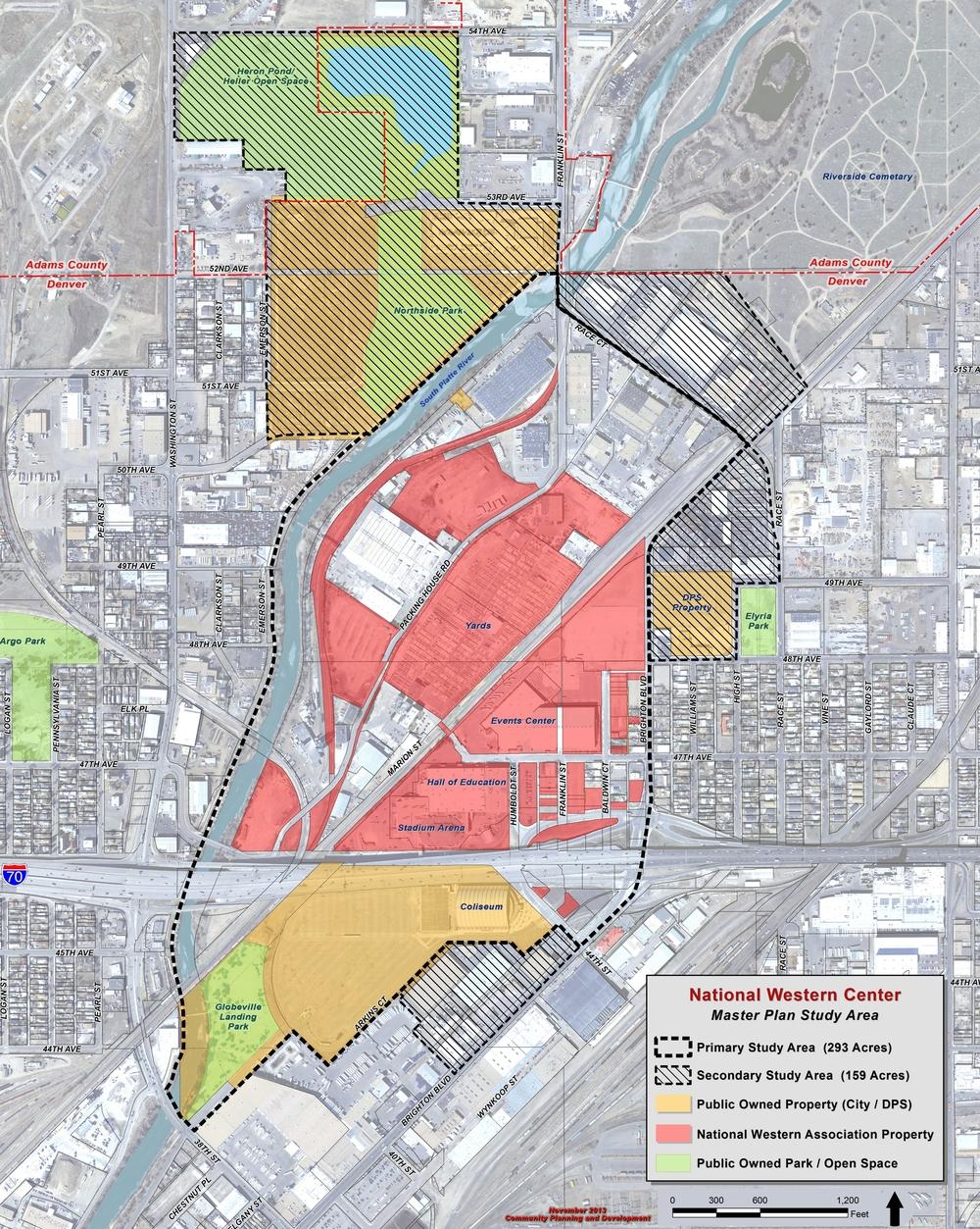 "North Denver Cornerstone Collaborative. ""National Western Center Fact Sheet."" 3. PDF. https://www.denvergov.org/content/dam/denvergov/Portals/728/documents/NDCC/NWC%20Fact%20Sheet%20Final.pdf. [Downloaded on 03 Apr 2016]"