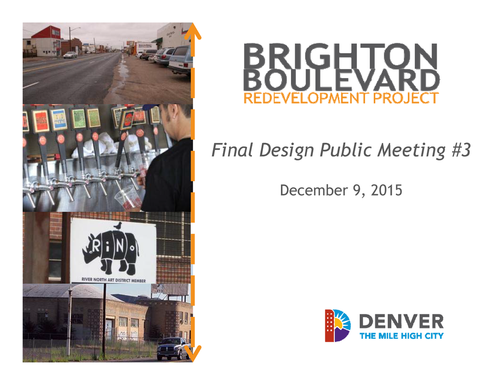 Final Design Public Meeting