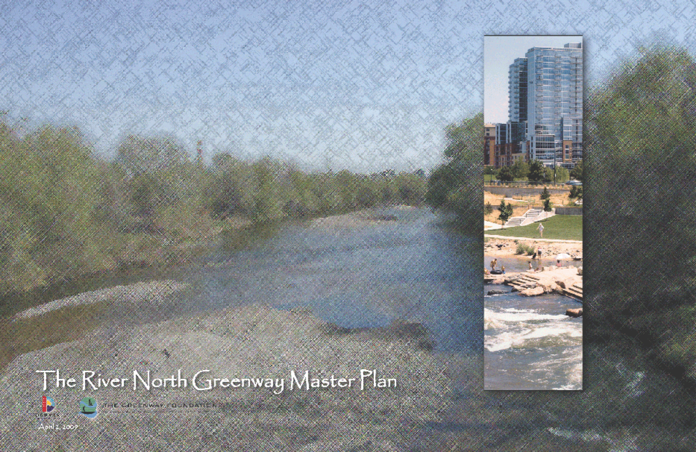 "City and County of Denver. ""The River North Greenway Master Plan."" 02 Apr 2009. PDF. https://www.denvergov.org/Portals/747/documents/planning/master_plans/RINO_masterPlan.pdf  [Downloaded on 24 Jan 2016]"