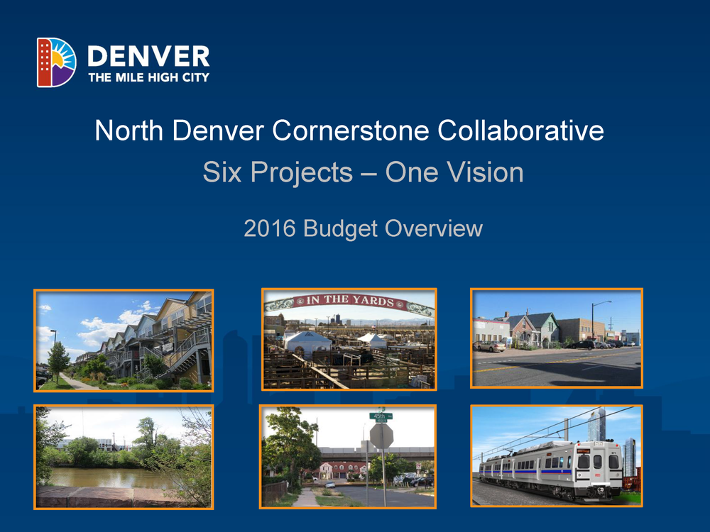 NDCC 2016 Budget Overview
