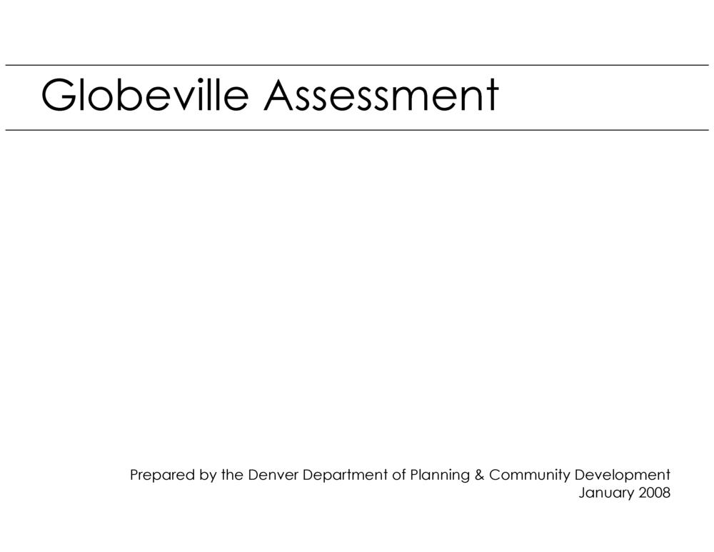 Globeville Assessment