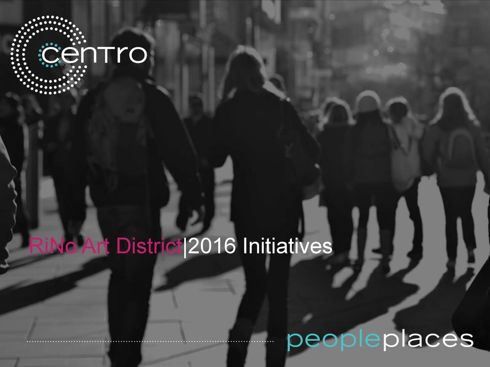 RiNo Arts District:  Initiatives