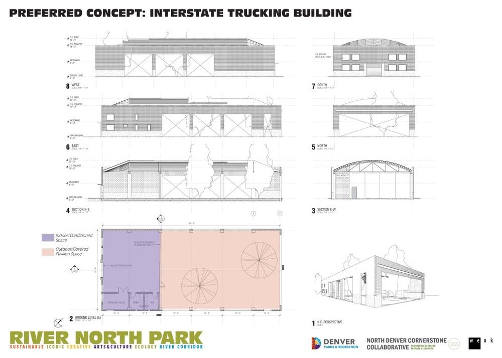 Interstate Trucking Bldg. Concept
