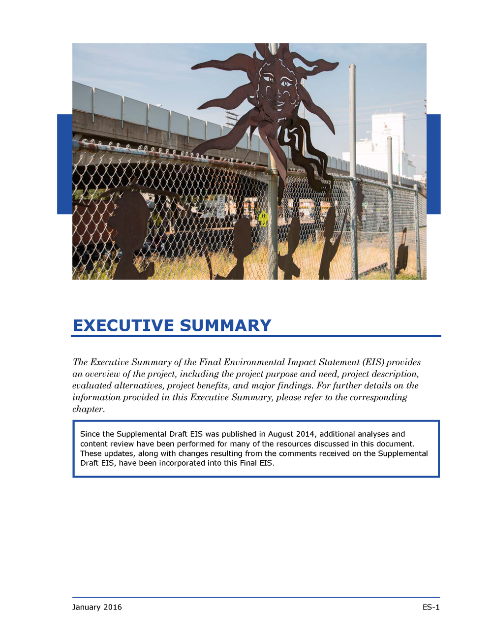 EIS Executive Summary