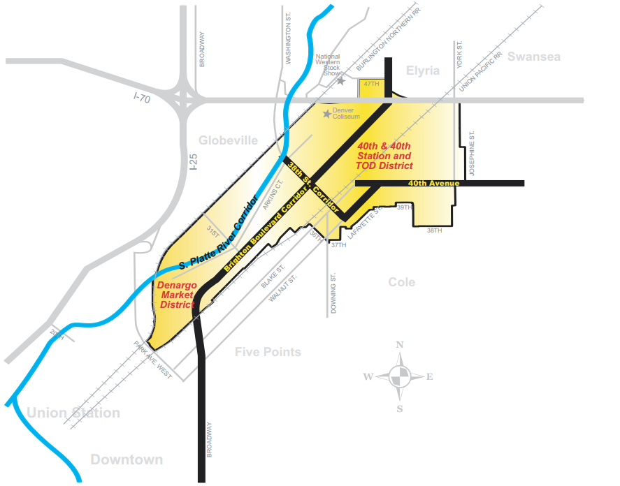 "City and County of Denver. ""River North Plan."" 2013: 83. PDF. https://www.denvergov.org/content/dam/denvergov/Portals/646/documents/planning/Plans/River_North_Plan.pdf [Downloaded on 30 Mar 2016]"
