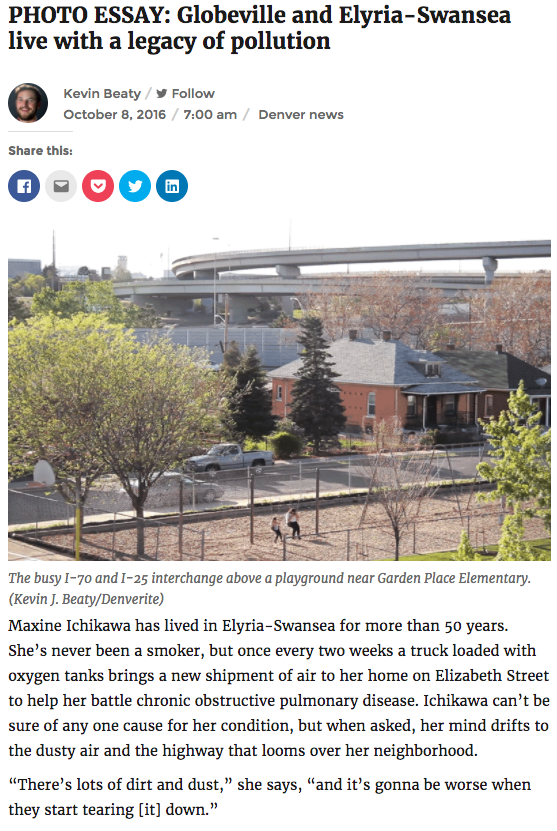 Photo Essay:  Globeville and Elyria-Swansea live with a legacy of pollution